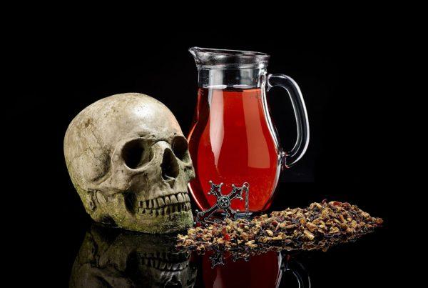 Chilled immortali-tea Blood Orange
