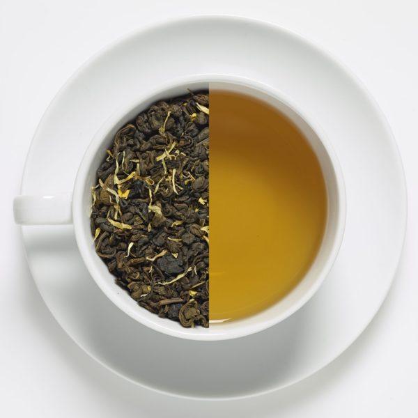 Toe of frog Vanilla Green Tea